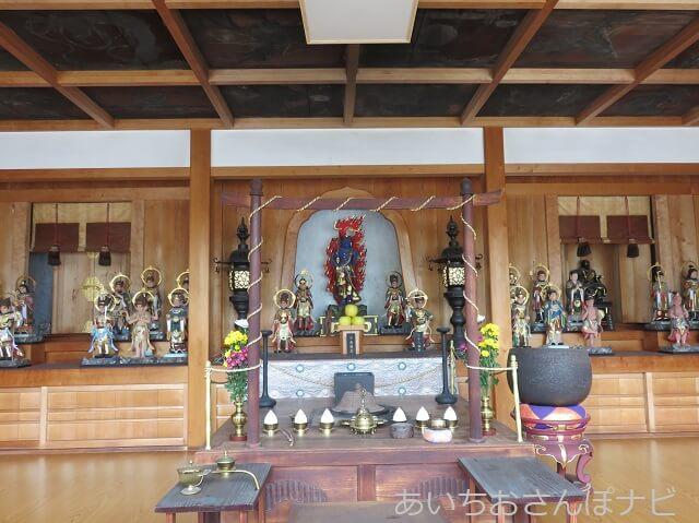 名古屋市中川区荒子観音の護摩堂
