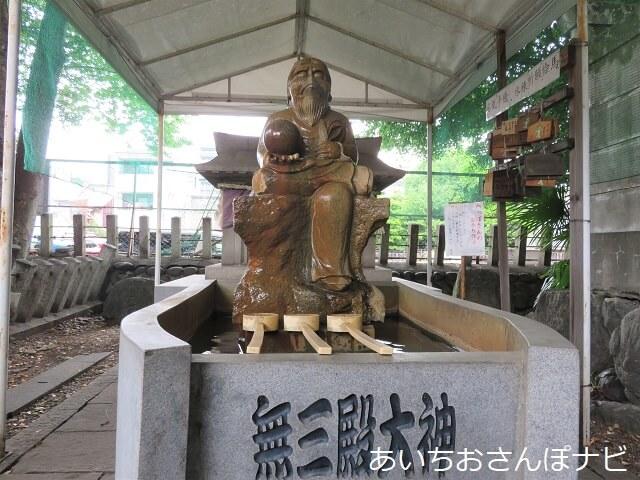 名古屋市中川区塩釜神社の無三殿大神