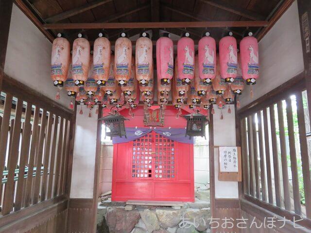 名古屋市中川区塩釜神社の稲荷社