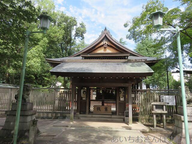 瀬戸市深川神社の陶彦社