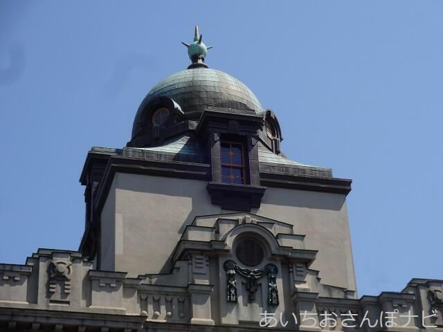名古屋市市政資料館の避雷針