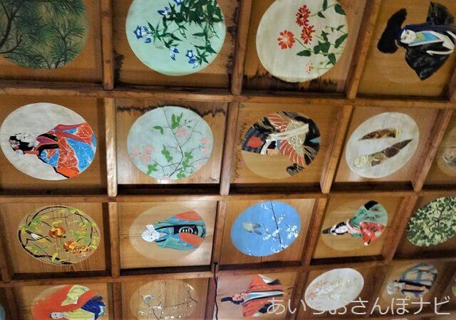 名古屋市千種区桃厳寺本堂の天井画
