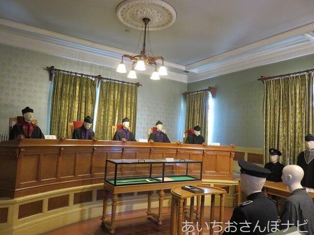 名古屋市市政資料館の明治時代の控訴院