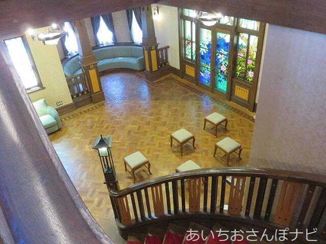 名古屋市東区の文化のみち二葉館のホール