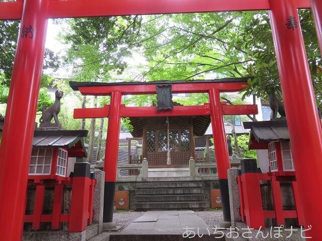 名古屋市千種区揚輝荘の北園にある豊彦神社