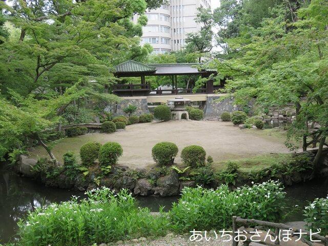 名古屋市千種区揚輝荘の北庭園