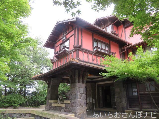 名古屋市千種区揚輝荘の聴松閣