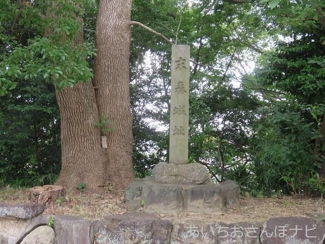 名古屋市千種区城山八幡宮の末森城跡