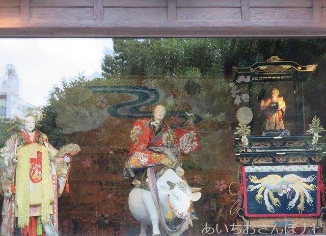 名古屋市中区大須観音の境内にある宗春からくり人形