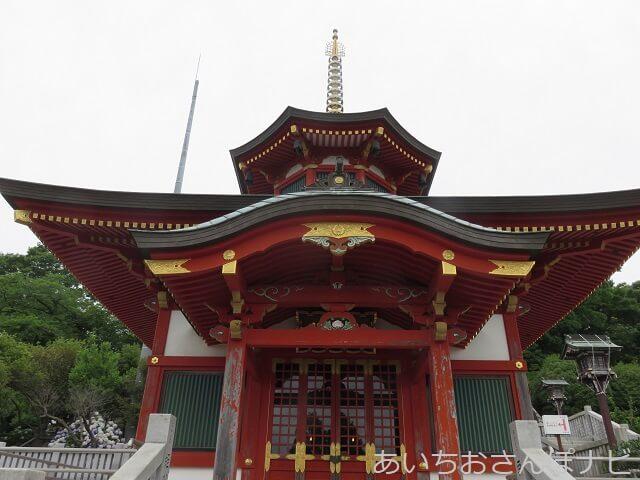 犬山成田山の聖蘭堂