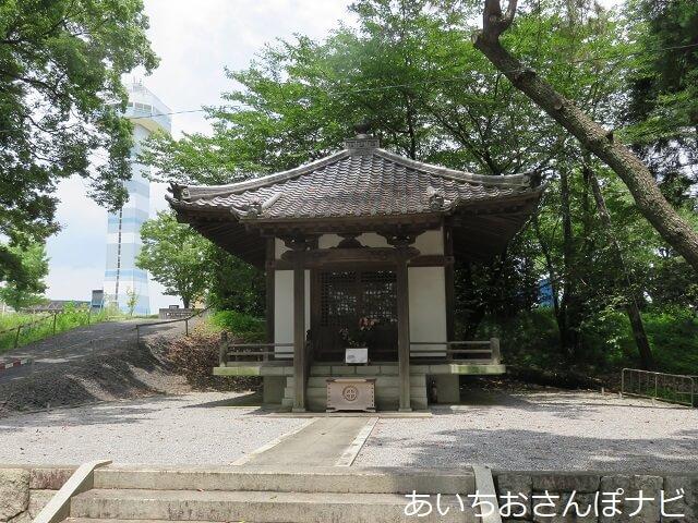 岐阜県海津市治水神社の観音堂
