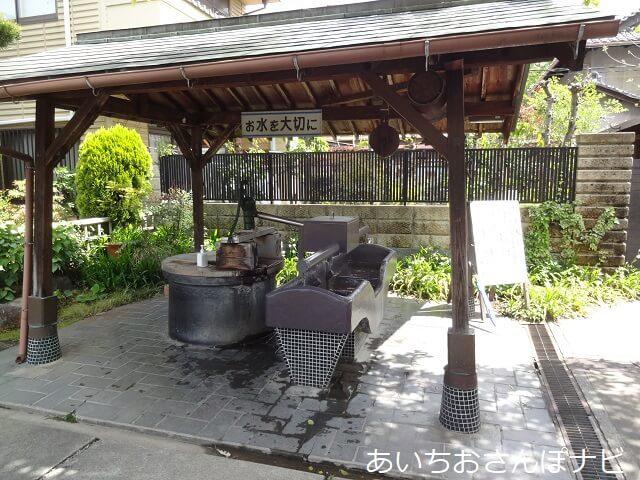 稲沢市矢合観音の井戸