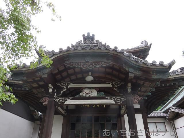 愛知県小牧市福厳寺の歓喜天堂