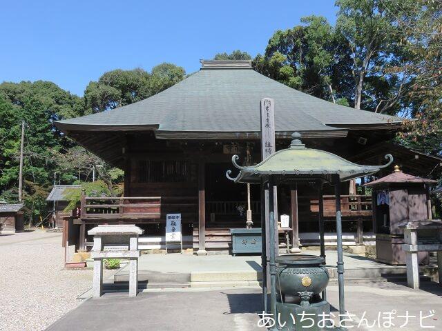 愛知県春日井市円福寺の観音堂